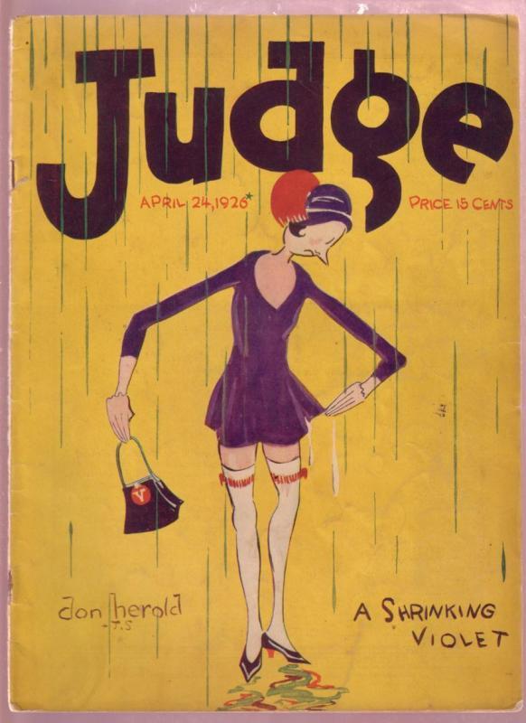 JUDGE APR 22 1926-GOLF HUMOR-MILT GROSS-RB FULLER-FARR VG