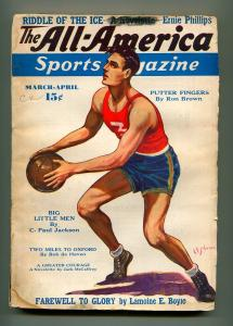 ALL AMERICAN SPORTS MARCH 1938-ALL AMERICAN PERIODICALS-G/VG
