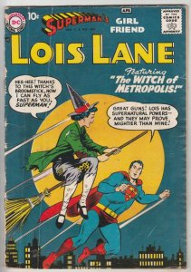 Lois Lane, Superman's Girlfriend  #1 (Mar-58) VG- Affordable-Grade Superman, ...