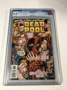 Deadpool (1997 series) #38 CGC 9.8