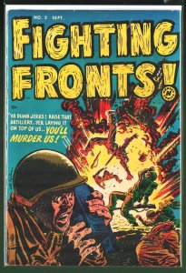 Fighting Fronts! #2 (1952)