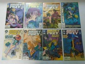 Birds of Prey run #1-49 48 different (1999-2003) Avg 8.0 VF