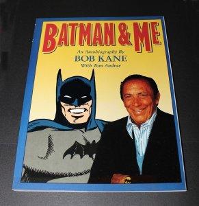 Batman and ME TPB / NM  Bob Kane Autobiography 156 pgs  1989