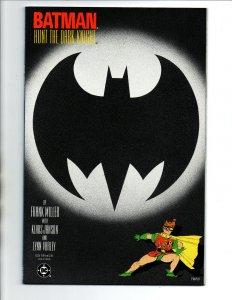 Batman The Dark Knight Returns #3 - 2nd Print - Frank Miller - 1986 - NM