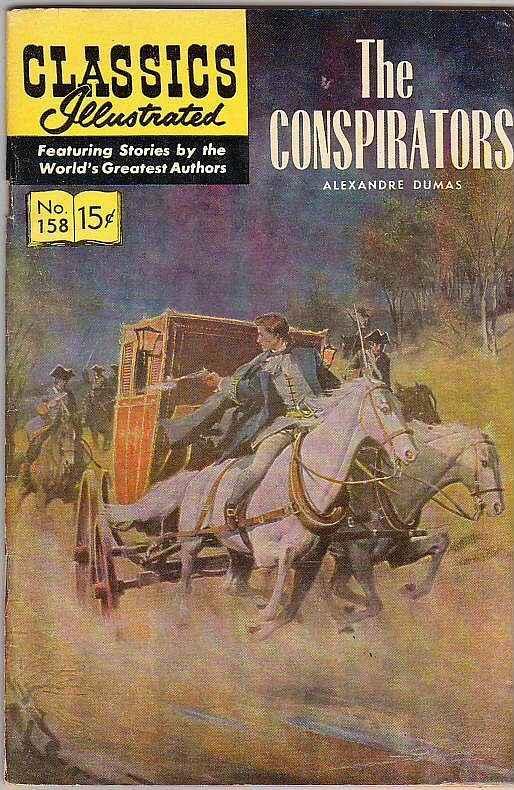 Classics Illustrated #158 (Sep-60) FN+ Mid-Grade