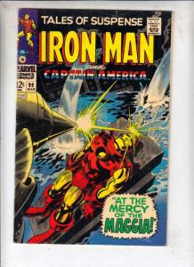 Tales of Suspense #99 (Mar-68) FN+ Mid-Grade Iron Man, Captain America