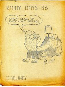 Rainy Days #36 1970-Don & Maggie Thompson fanzine-VG