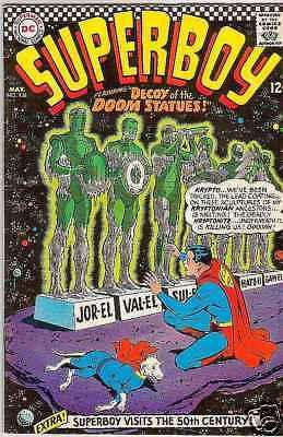 Superboy 136 strict VF 8.0 High-Grade  Appearance - Kyptro ~pay 1st shipping fee
