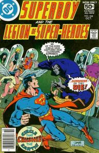 Superboy and the Legion of Super-Heroes #244 FN; DC   save on shipping - details