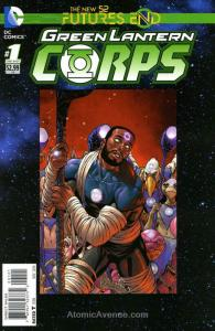 Green Lantern Corps: Futures End #1A VF/NM; DC | save on shipping - details insi