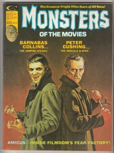 Monsters Of The Movies #8 (Aug-75) NM- High-Grade Barnabas Collins
