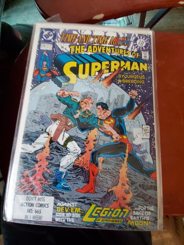Adventures of Superman #478 (1991)
