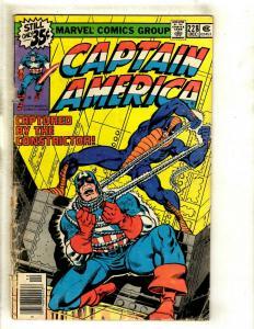 10 Cap America Comics # 228 264 269 271 272 276 277 278 279 280 EK13