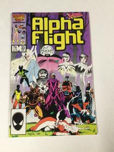 Alpha Flight 33 Nm Near Mint 1st Lady Deathstrike Marvel Copper Age