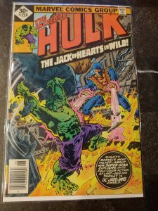 THE INCREDIBLE HULK #214 VS. JACK OF HEARTS