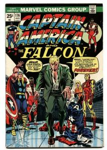CAPTAIN AMERICA AND THE FALCON #176 END OF CAPT AMERICA fn/vf