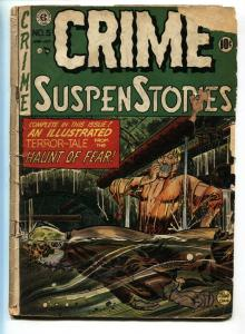Crime SuspenStories #5 1951-EC Comics-horror-terror-Johnny Craig cvr-FR