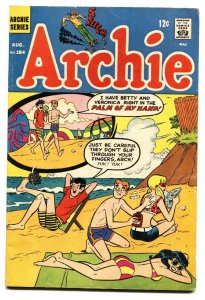 Archie Comics #184 1968-Spicy Swimsuit cover-comic book