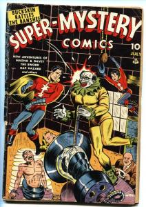 Super-Mystery Vol. 3 #5-Sick Torture cover-Hanging panels