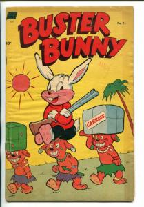 Buster Bunny #3 1953- Golden Age funny animal G/VG
