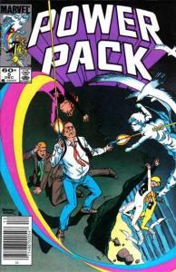 Power Pack (1984 series) #5, VF (Stock photo)