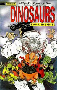 Dinosaurs For Hire Fall Classic #1 VG; Eternity | low grade comic - save on ship