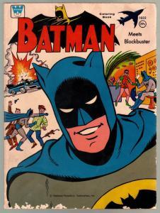 Batman Coloring Book #1032 1966-Whitman-39¢ cover price-VG-