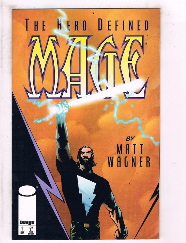 Lot Of 7 Mage Image Comic Books #1 2 3 4 5 6 7 Matt Wagner Art Story Series J106
