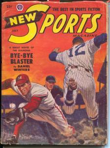 New Sports 7/1951-Popular-baseball-boxing-football-VG