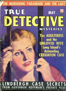 TRUE DETECTIVE MYSTERIES-MAY 1936-G-HARD BOILED-SPICY-MURDER-RAPE-POISON G