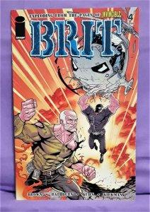 Invincible Bruce Brown BRIT #1 - 4 Cliff Rathburn (Image, 2007)!