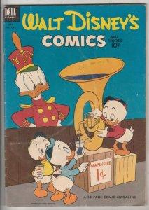 Comics and Stories, Walt Disney's #154 (Jul-53) FN/VF+ High-Grade Donald Duck...