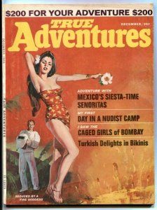 True Adventures December 1965- Gogos cover- Caged Girls of Bombay