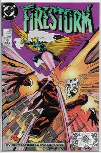 Firestorm: The Nuclear Man (vol. 1, 1982) # 89 FN Ostrander/Mandrake, Firehawk