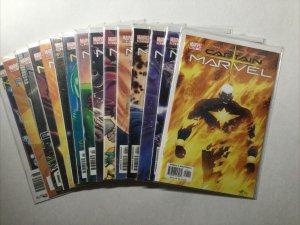 Captain Marvel 1-3 5-7 9-15 17 18 Lot Run Set Near Mint Nm Marvel
