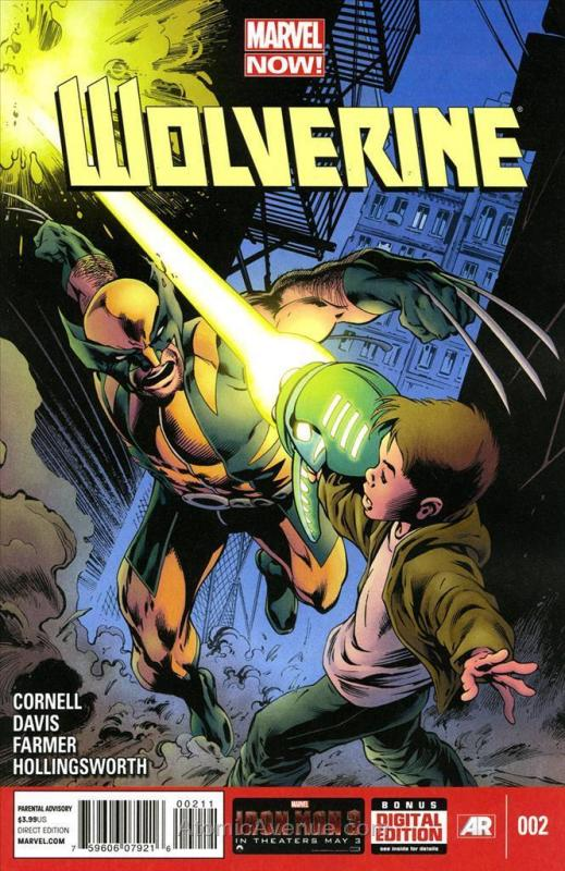 Wolverine (5th Series) #2 VF/NM; Marvel | save on shipping - details inside