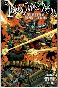 Lobo / Judge Dredd Psycho-Bikers vs. Mutants From Hell , 9.0 or better
