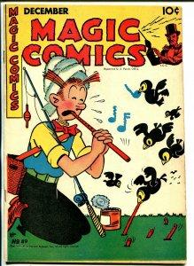 Magic #89 1946-McKay-Mandrake-Dagwood-Ray Crane-Popeye-Lone Ranger-Blondie-VF