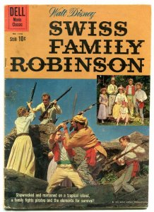 Swiss Family Robinson- Four Color Comics #1156 1960 VG