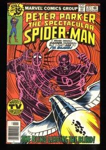 Spectacular Spider-Man #27 FN/VF 7.0 1st Frank Miller work on Daredevil!