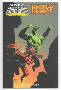 Savage Dragon Hellboy TPB Prestige Format NM/MT 9.6-9.8 1st Print Image 2002