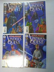 Star Wars Vader's Quest Set: #1-4 6.0 FN (1999)