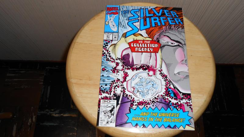 THE SILVER SURFER # 61 (NEW)