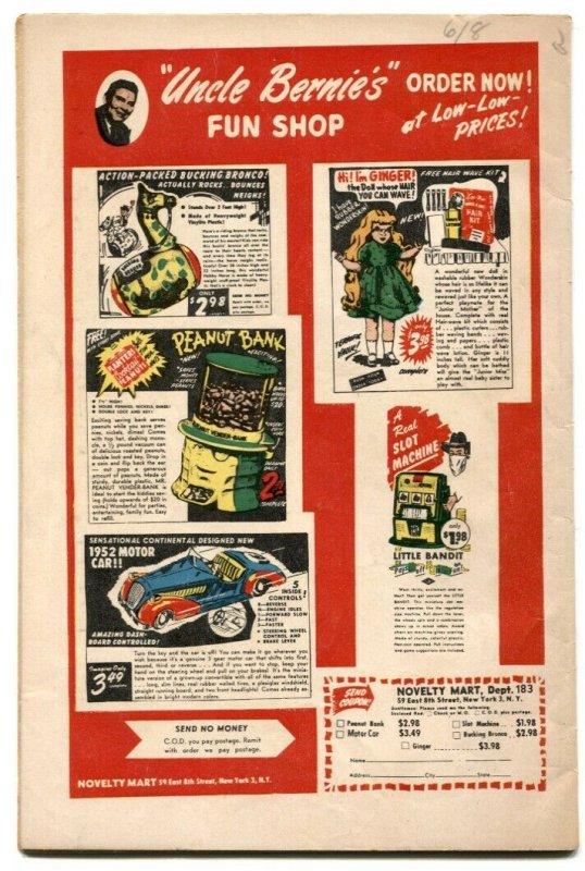 Sparkler Comics #100 1951- Casey Ruggles- VG+
