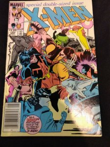 X-Men #193 Double Sized Issue Newsstand FIRST WARPATH IN COSTUME FIRST FIRESTAR