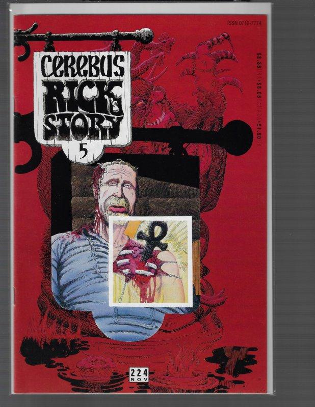 Cerebus the Aardvark #224 (Aardvark-Vanaheim)