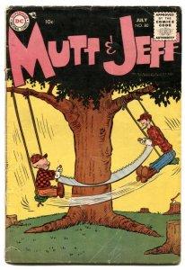 Mutt and Jeff #80 1955 Bud Fisher- DC Comics G/VG