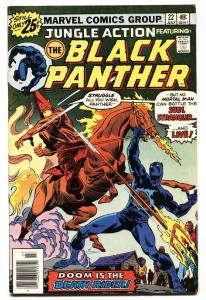 Jungle Action #22 comic book 1976- Black Panther vs. Klan cover vf-