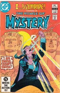 House of Mystery #305 (Jun-82) FN/VF- Mid-High-Grade I Vampire