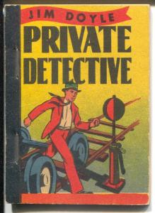 Jim Doyle Private Detective 1939-Whitman-And The Train Hold-Up-Ernest New-FN